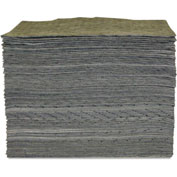 "Anchor® Universal Heavy Weight Sorbent Pad, 15"" x 17"", 100/Box"