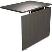 "Alera Reversible Return/Bridge - 42""W x 23-5/8""D x 29-1/2""H - Espresso - SedinaAG Series"