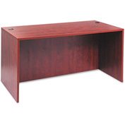 Alera Desk Shell with Straight Front - 59-1/8 x 29-1/2 x 29-1/2 - Med Cherry - Valencia Series