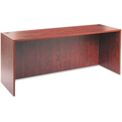 "Alera Credenza Shell for Valencia Series - 70-7/8""W x 23-5/8""D x 29-12""H -Medium Cherry"
