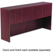 "Alera Hutch Doors for Valencia Series - 15-1/2""W x 3/4""D x 15""H - Mahogany - 4/ST"