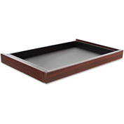 "Alera Center Drawer for Valencia Series - 24-1/2""W x 15""D x 2""H - Mahogany"
