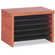 "Alera ALEVA316012MC Valencia Under-Counter File Organizer Shelf, 15-3/4""W x 10""D x 11""H, Cherry"