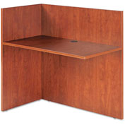"Alera Reversible Reception Return - 44""W x 23-5/8""D x 41-1/2""H - Medium Cherry - Valencia Series"