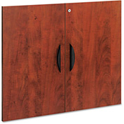 "Alera Cabinet Door Kit For Valencia Series Bookcases - 31 1/4"" x 25 1/4"" - Medium Cherry"