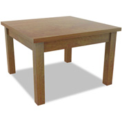Alera® Valencia Series Occasional Table, Rectangle, 23-5/8w x 20d x 20h, Medium Cherry
