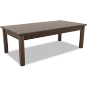 Alera® Occasional Table, Rectangle, 47-1/4w x 20d x 16h, Mahogany - Valencia Series