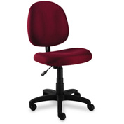 Alera® Swivel Task Chair - Fabric  - Burgundy - Essentia Series