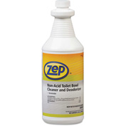Zep® Toilet Bowl Cleaner Non-Acid, 32oz Bottle 12/Case - AMRR00301CT