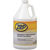 Zep® Carpet Extraction Cleaner Lemongrass, Gallon Bottle 4/Case - ZPPR00624CT