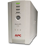 APC® APWBK500 Back-UPS CS Battery Backup System Six-Outlet 500 Volt-Amps