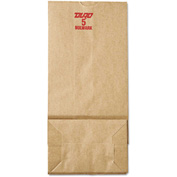 "Grocery Paper Bags 5-1/4"" x 3-7/16"" x 10-15/16"" Brown - 500 Pack"