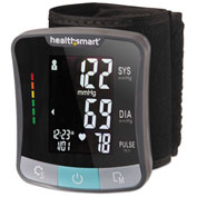 HealthSmart® Premium Series Universal Wrist Digital Blood Pressure Monitor, Adult, Black