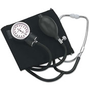 "HealthSmart® Self-Taking Home Blood Pressure Kit, 22"" Stethoscope, Large Adult Cuff"