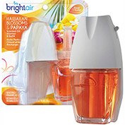 Bright Air Electric Scented Oil Air Freshener Refill, Hawaiian Blossoms & Papaya, 2 Pk. 900256EA
