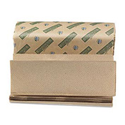 "Boardwalk Green Multi-Fold Natural Towels, 9-1/8"" x 9-1/2"", 200 Sheets/Pack, 20/Case - BWK13GREEN"