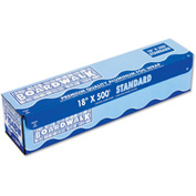 "Boardwalk® Standard Aluminum Foil Roll, 18"" x 500 Ft., 14 Micron Thickness, Silver"