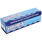 Boardwalk® Heavy-Duty Aluminum Foil Rolls, 18 in. x 500 ft., Silver