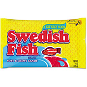 Swedish Fish® Candy, Original Flavor, 14 Oz Dispenser Box