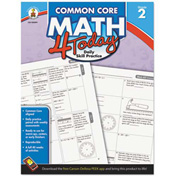 Carson-Dellosa Publishing Common Core 4 Today Workbook, Math, Grade 2, 96 pages