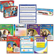 Carson-Dellosa Publishing Common Core Kit, Math/Language, Grade 5