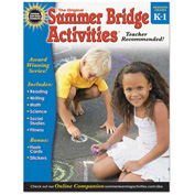 Carson-Dellosa Publishing Summer Bridge Activities, Grades K-1