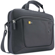 Case Logic AUA-316ANT Case for 15.6 Laptop and Tablet, Dark Gray, 16-1/2 x 3-1/5 x 12-4/5