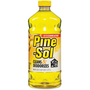 Pine-Sol® Multi-Surface Cleaner Lemon Fresh, 60oz Bottle, 6/Case - CLO40239