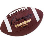 "Champion Sports CF100 Pro Composite Football, Official Size, 22"", Brown"