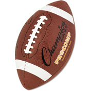 "Champion Sports CF200 Pro Composite Football, Intermediate Size, 21"", Brown"