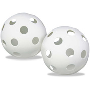 "Champion Sports PLBB Plastic Baseballs, 9"", White, 12 per set"