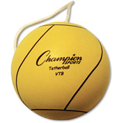 Champion Sports VTB Tether Ball, Playground Size, Optic Yellow