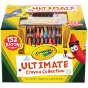 Crayola® Ultimate Crayon Case, Sharpener Caddy, 152 Colors