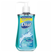 Dial® Spring Water Antibacterial Liquid Hand Soap, Spring Water, 7.5 oz., 12/Case - DIA 02670