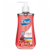 Dial® Antimicrobial Liquid Soap, 7.5 oz. Pump Bottle, Pomegranate & Tangerine - 1700002795