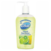 Dial® Scented Antibacterial Hand Sanitizer, Fresh Citrus, 7.5 oz. Bottle - 1700008075
