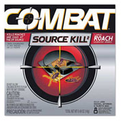 Combat® Source Kill Large Roach Killing System, Child-Resistant Disc, 8/Pk, 12/Ca - DIA 41913