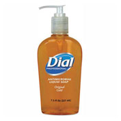 Dial® Professional Gold Antimicrobial Soap, Floral Fragrance, 7.5 oz. Pump Bottle - 84014