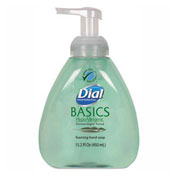 Dial® Professional Basics Foaming Hand Soap, Honeysuckle, 15.2 oz. Pump Bottle - 98609EA