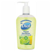 Dial® Scented Antibacterial Hand Sanitizer, Fresh Citrus, 7.5 oz. Bottle, 12/Ca - 1700099595