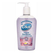 Dial® Scented Antibacterial Hand Sanitizer, Sheer Blossoms, 7.5 oz. Bottle - 99682