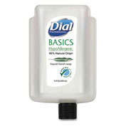 Dial® Professional Basics Liquid Hand Soap, Rosemary & Mint, 15 oz. Cartridge, 6/Case - 99813