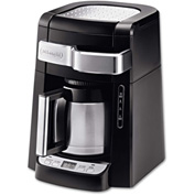 Delonghi DCF2210TTC - Coffee Maker, 10-Cup, W/Thermal Carafe, Front Access To Water & Filter, Black
