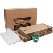 Duck® Moving Kit, Assorted Dimensions, Assorted Colors, 12/PACK