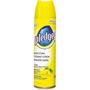 Pledge® Furniture Polish Lemon, 13.8oz Aerosol 1/Case - SJN682275EA