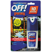 OFF!® Deep Woods Sportsmen Insect Repellent, 1oz Spray Bottle 12/Case - DVO94904
