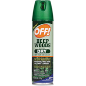 OFF!® Deep Woods Dry Insect Repellent, 4oz Aerosol 12/Case - DVOCB717649