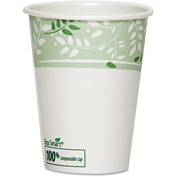 Dixie® PLA Hot Cups, Paper w/PLA Lining, Viridian, 12 oz., 1000/Carton