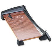 """X-ACTO® Heavy-Duty Guillotine Paper Trimmer, Wood Base, 12""""x24"""""""