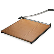 "X-ACTO® Wood Base Guillotine Trimmer, 20 Sheets, Wood Base, 30""X30"""